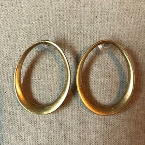 Stella & Dot Georgia Hoop Earrings